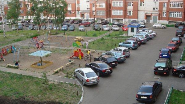 Парковочные места на придомовой территории
