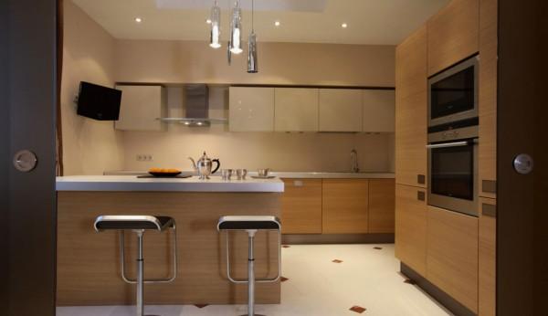 Как перенести кухню в жилую комнату