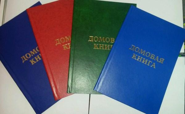 Оформление домовой книги на частный дом